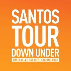 Santos Tour Down Under  logo