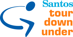Santos Tour Down Under logo