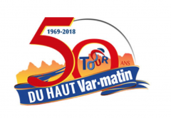 Tour Cycliste International du Haut Var-matin  logo