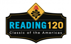 The Reading 120 logo