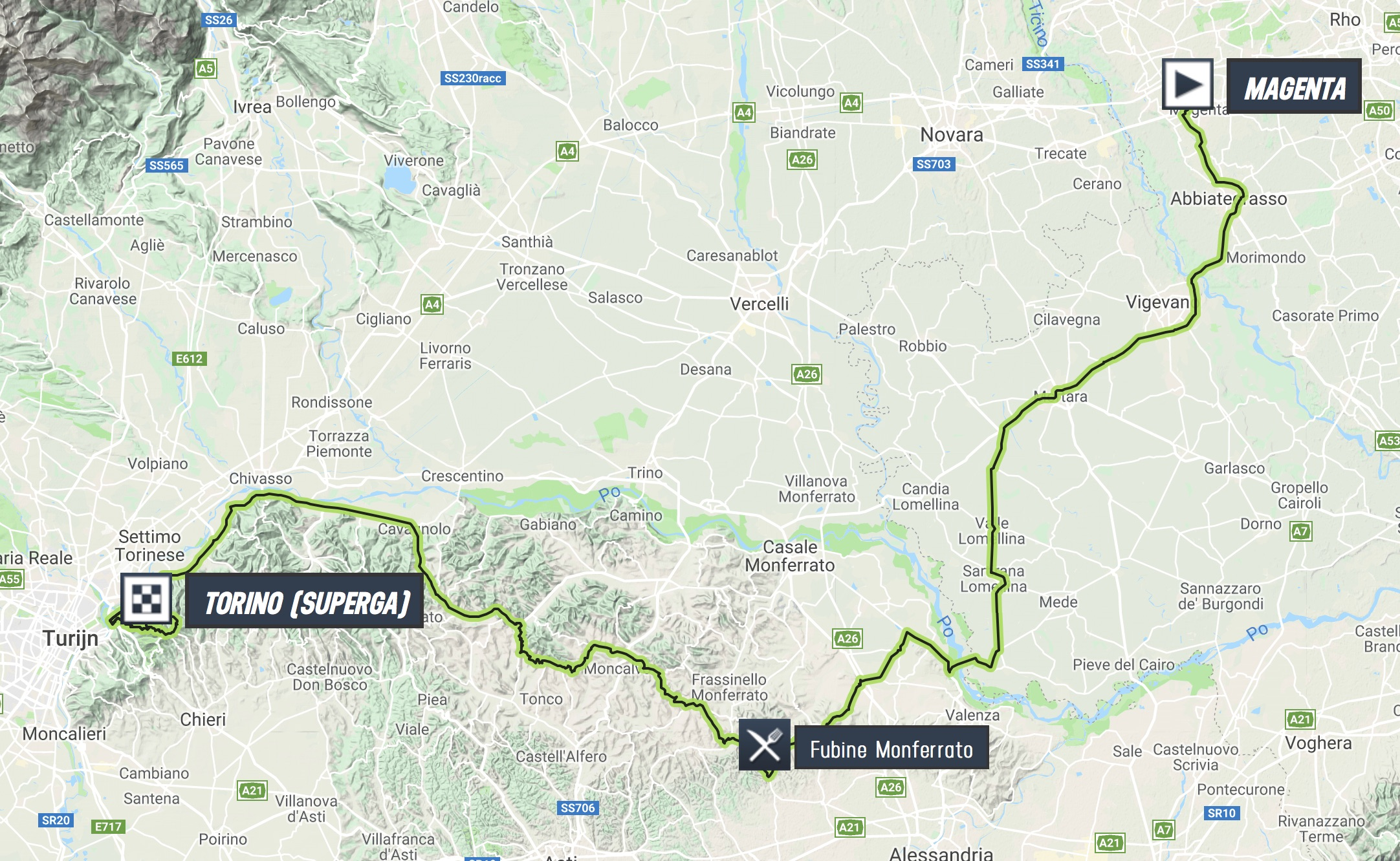 Race Thread 2018 Milano Torino 1hc Peloton Torio My First Plane Complete Set October 10th Magenta Mi