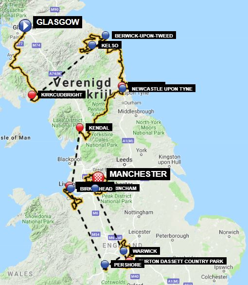 OVO Energy Tour of Britain 2019 | Stage/race profiles
