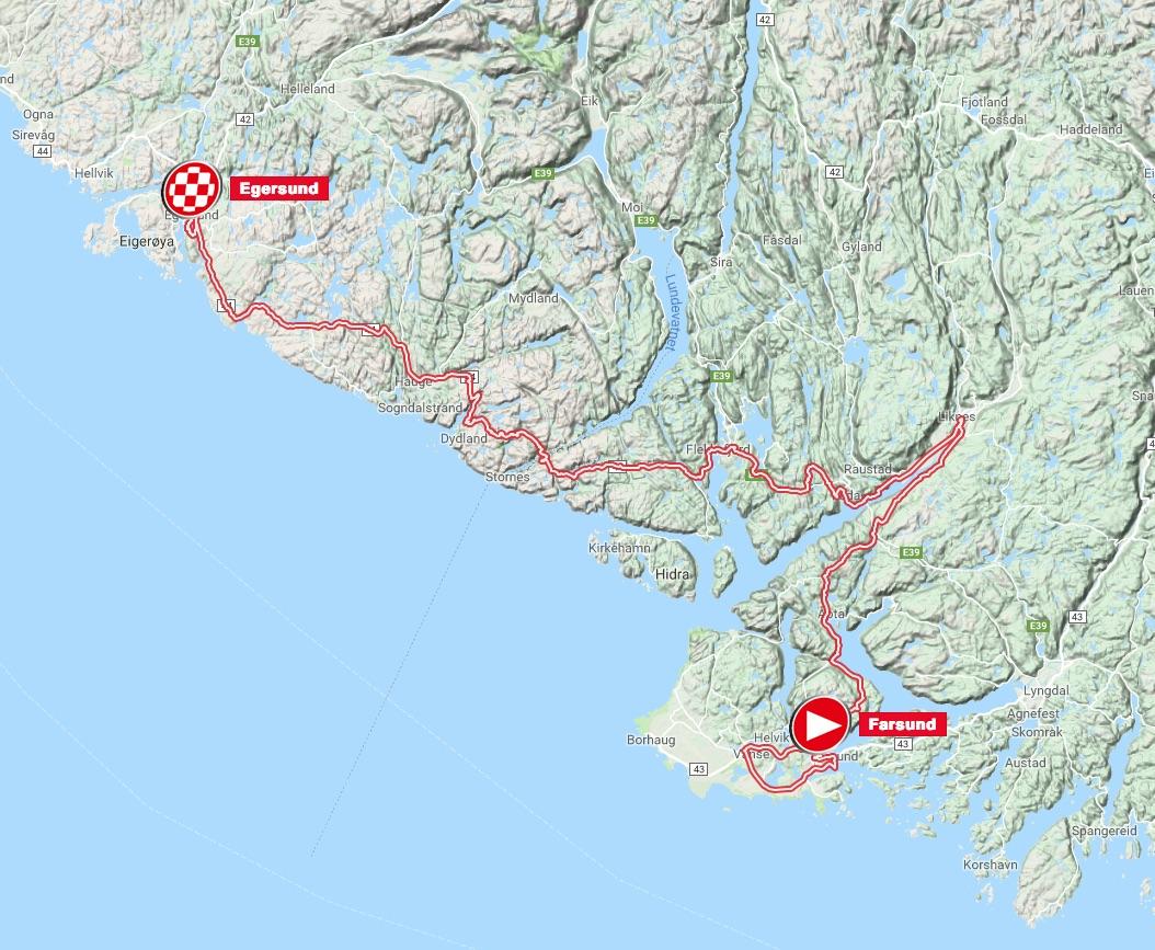Tour Des Fjords Stage