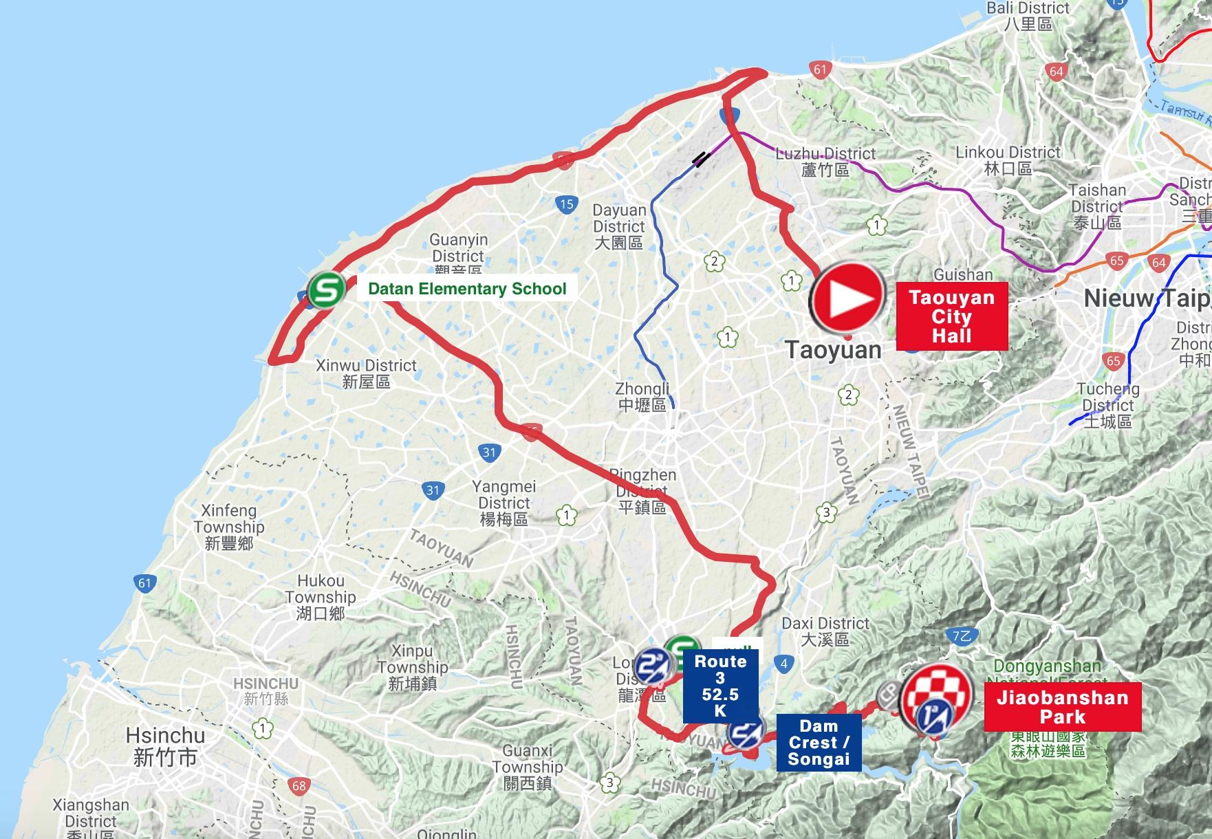Tour De Bay Results