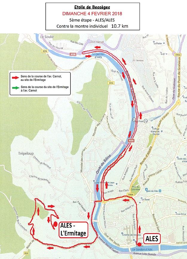 Etoile de Bessèges 2018 | Stage 5 (ITT)