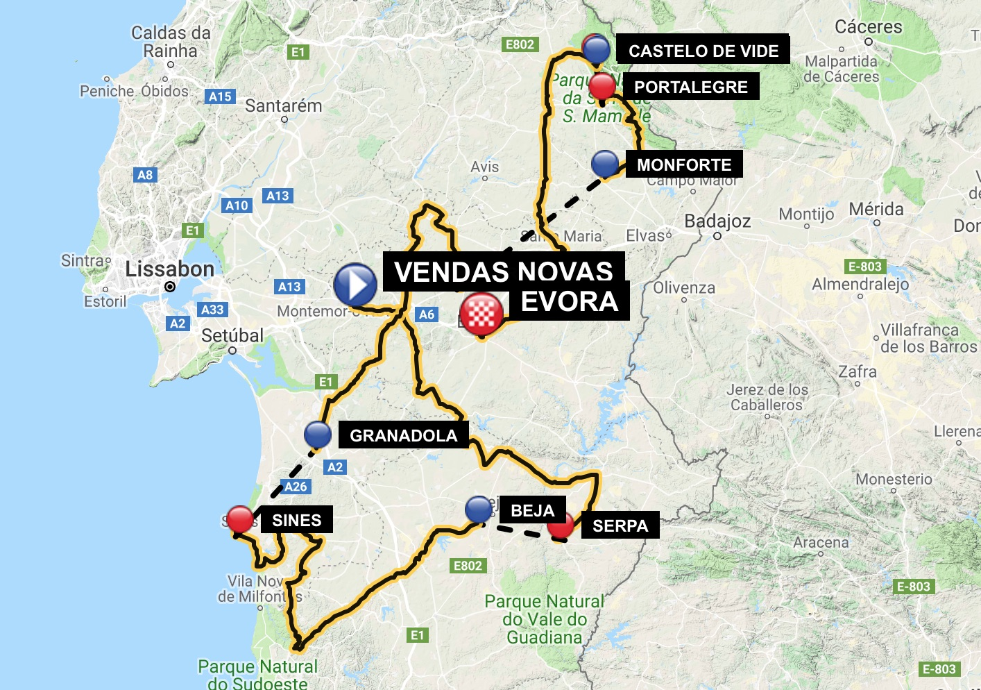 Stage Race Profiles