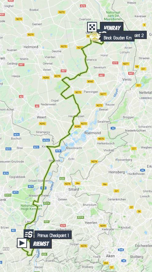 BinckBank Tour 2019 Binckbank-tour-2019-stage-5-map-6a6702221c