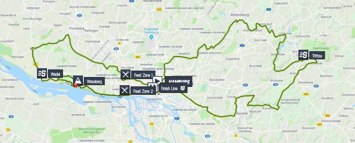 EuroEyes Cyclassics Hamburg 2019 Cyclassics-hamburg-2019-result-map-2e2365c307