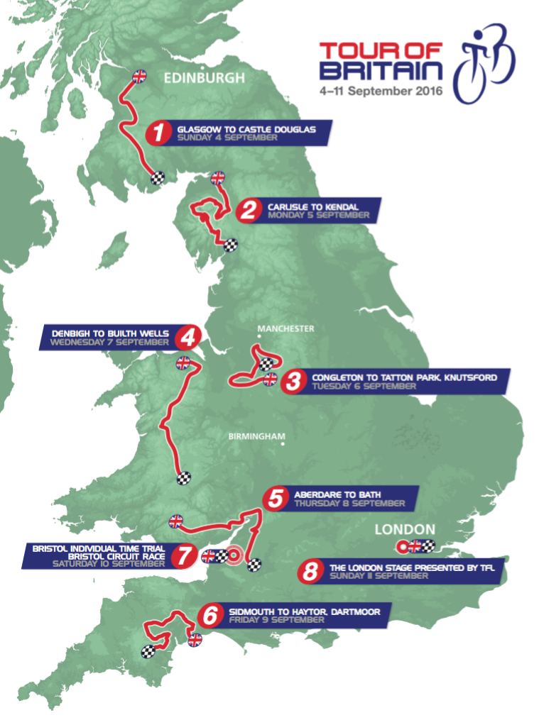 Pro Cycling Stats Tour Of Britain